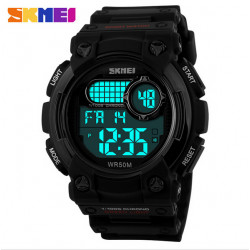 SKMEI 1054 Luminous LED Digital Calendar Waterproof Quartz Sport Watch