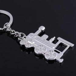 Silber Lokomotive Serien Metall Schlüsselanhänger Schlüsselanhänger Fertigkeit Geschenk