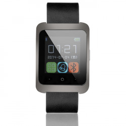 U8W Pedometer Bluetooth 4.0 Smart Phone Klocka för Android IOS