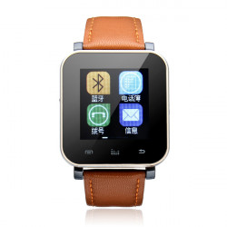 "V5 Bluetooth 1.44"" Touch Screen Anti Lost Smart Watch For Android"