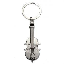 Violin Fiddle Modell Schlüsselanhänger Instrument Schlüsselanhänger Metall Schlüsselanhänger