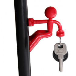 Wall Climbing Man Magnet Key Chain Magnetic Key Holder 6 Colors