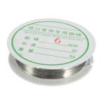 0.6mm 10M Silver Koppartråd Wire DIY Smycken Smyckestillverkning & Reparation