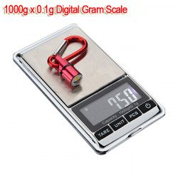 1000g X 0,1 G LCD Mini Digital Smycken Digitalvåg