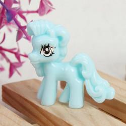 10pcs Blue Cute Cartoon Flatback Resin Pony DIY Decoration