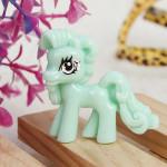 10stk Grün nette Karikatur Flatback Harz Pony DIY Dekoration Schmuckherstellung & Reperatur