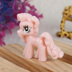 10pcs Light Pink Cute Cartoon Flatback Resin Pony DIY Decoration