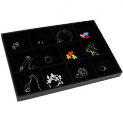 12 Galler Smycken Display Förvaringsbox Ear Pin Organizer Holder Case