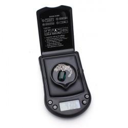 200g x 0.01g mini beweglicher Taschen Diamant Schmuck Digital Skala