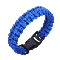 Geflochtene Paracord Überlebens Armband Kunststoffschnalle Armband