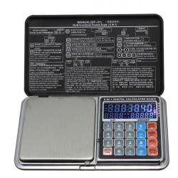 DP-01 1000 G X 0.1 Multifunktionel Lomme Smykker Digitalvægte