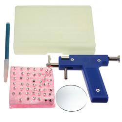 Hals , Nasen  Navel Piercing Werkzeug mit 98stk Ohrstecker Kit Set