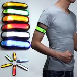 LED Safety Reflective Armbånd Blinkende Strap Belt Armbånd Unisex Herresmykker