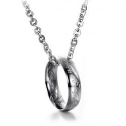 Mænd Lord Of The Ringen Vedhæng Kæde Halskæde Titanium Stål
