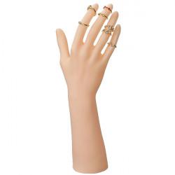 Plast Mannequin Hand Handsker Display Smykker Holder Stand