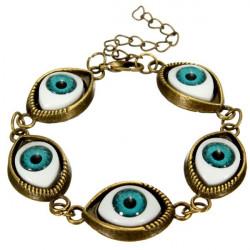 Punk schlechte Augen Charme Armband Armband Metall Augäpfel Armband Unisex