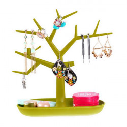 Tree Branch Shape Earrings Necklace Ring Jewelry Display Stand Holder