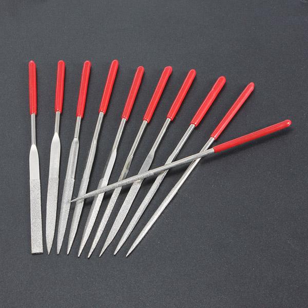 10stk Handy Ceramic Glass Gem Stone Diamond Needle File Craft Værktøj Urmager Værktøj