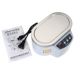 110V Mini Ultrasonic Cleaner Smykker Briller Circuit Board Watch CD
