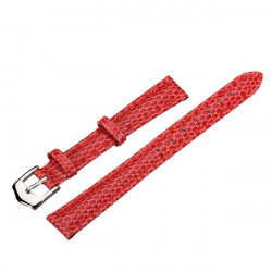 12mm 14mm 16mm 18mm 20mm PU Leather Red Wrist Watch Band