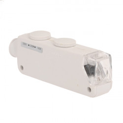 160x- 200x Zoom LED Minifick Mikroskop Förstoring MG10081-1A