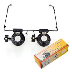 20X Forstørrelsesglas Lup Eye Lup Lens Juvelér Urmagere LED Light
