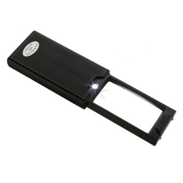 2.5X 45X Auszugs LED Tasche Lupe Lupe Uhrenwerkzeug