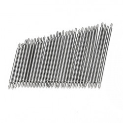 30pcs 23-37mm Double Flange Watch Band Strap Link Pin Spring Bar