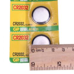 5st GP CR 2032 Knappcellsbatteri Klocka 3V Leksaker Calculator