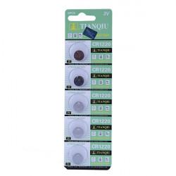 5stk TIANQIU CR 1220 Knapcelle Batterier Ure 3V Legetøj Elektronisk