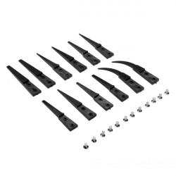 6stk Antistatisk VETUS Udskiftelige Tip Cuspidal Nipper Plast Pincet