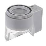 8X LED Brennweite einstellbare Lesetaschenwaage Vergrößerungsglas Glas Uhrenwerkzeug