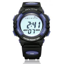 GLEICH A5109 Sport Back Light Week Datum Männer Frauen Quarz Armbanduhr