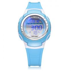 GLEICH A9034 Sport schwarze runde Gegenlichtinstallationssatz Kind Armbanduhr