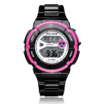ALIKE AK14103 Sport Date Alarm Outdoor Women Rubber Wrist Watch Watch