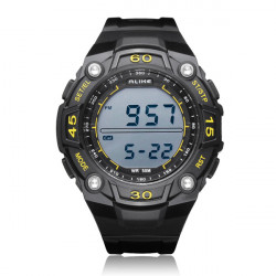 ALIKE AK14106 Sport Date Alarm Outdoor Men Rubber Wrist Watch