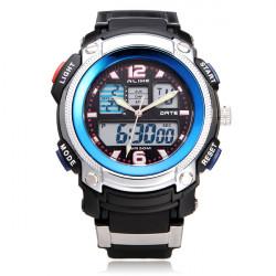 Lika AK1163 Sport Datum Chronograph Alarm Svart Herr Armbandsur Klocka