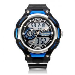 Unter gleichen Bedingungen AK1395 Sport Big Zifferblatt Datum Back Light Schwarz Men Armbanduhr