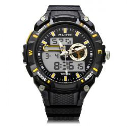 Unter gleichen Bedingungen AK14100 Sport Datum große Zifferblatt Rücklicht Schwarz Mann Armbanduhr