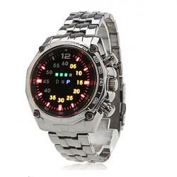 Alloy LED Digital Armbandsur