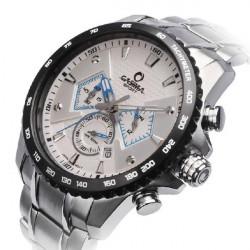 CASIMA 8103 Men 4 Dial Sport Waterproof Quartz Wrist Watch
