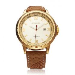 CURREN 8120 Kalender Gold Schwarz Mode Herren Handgelenk Quarz Uhr