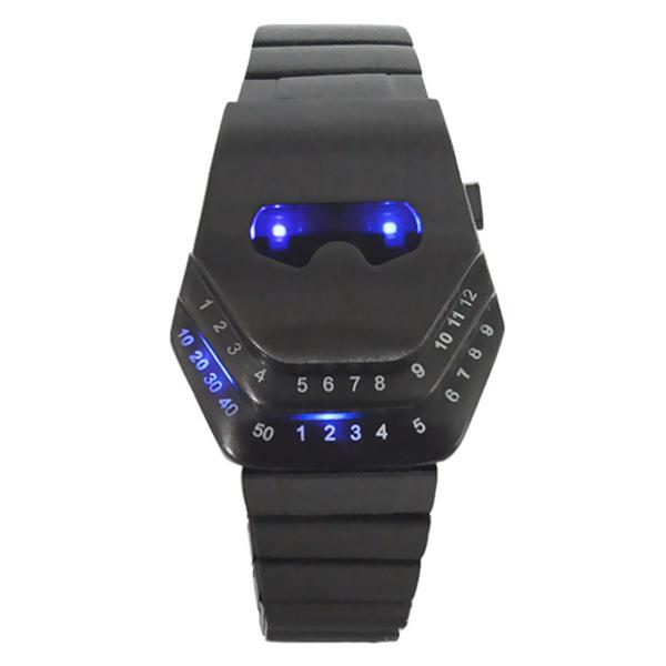 Cobra CF Durch Firewire Unregelmäßige LED Armbanduhr Uhren