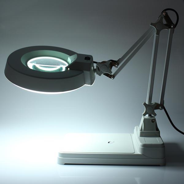 Desktop Förstoringsglas Lampa Elektroniska Förstoringsglas 220V 22W Urmakeriverktyg