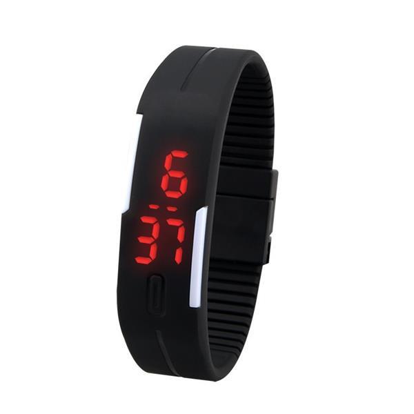 Mode Touchscreen Wasserdichte Süßigkeit Farben Sport LED Uhr Uhren