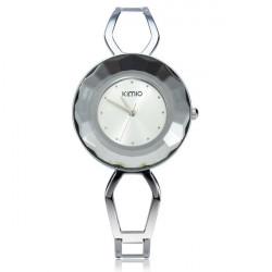 Arbeiten Sie Weinlese KIMIO K462 Rhinestone Armband Frauen Quarz Uhr