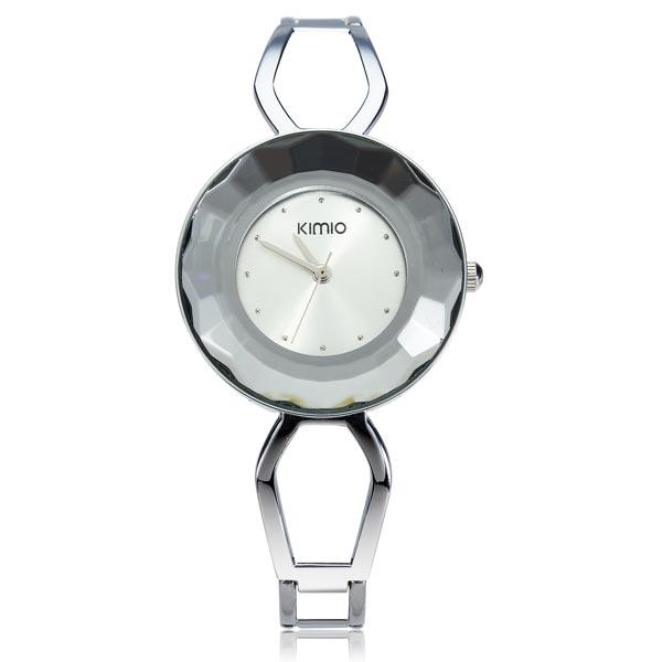 Arbeiten Sie Weinlese KIMIO K462 Rhinestone Armband Frauen Quarz Uhr Uhren