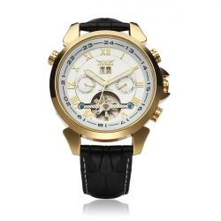JARAGAR Automatic Mechanical Luxury Flywheel Men Wrist Watch