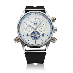 JARAGAR Automatic Mechanical Silicone Commercial Casual Watch