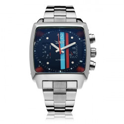 JARAGAR automatische mechanische Platz Mode Gewerbe Mann Armbanduhr